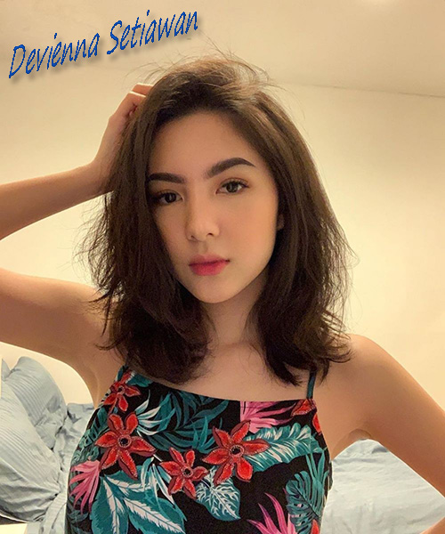 Beauty Vlogger Devienna Setiawan
